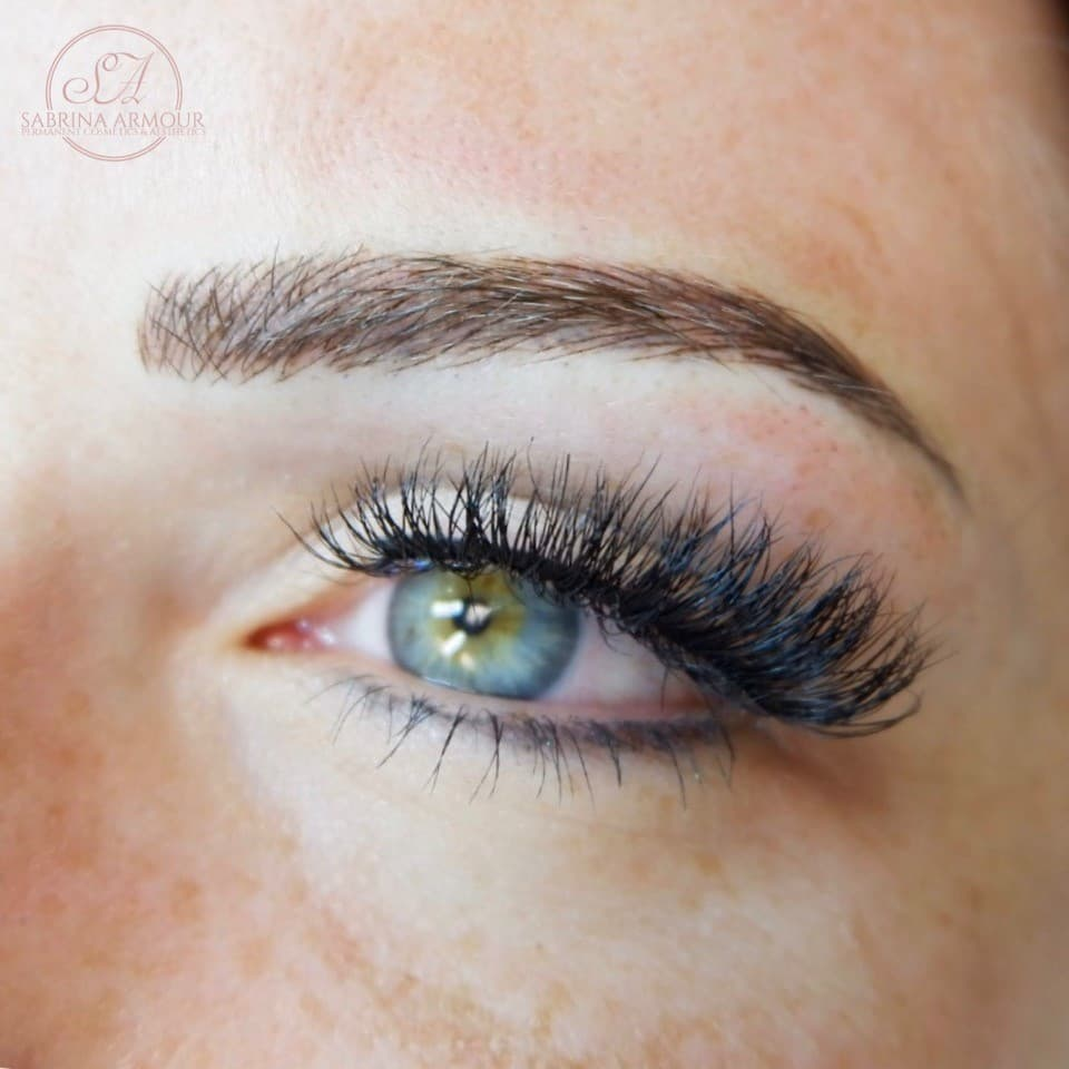 Microblading treatment results